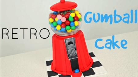 翻糖蛋糕 仿真彩虹糖小豆机糖果机