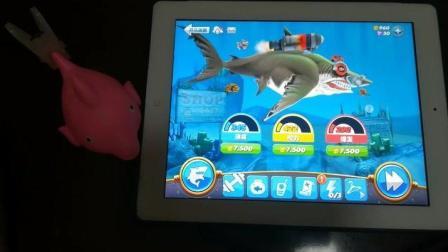 饥饿鲨世界之巨齿鲨升级大冒险1
