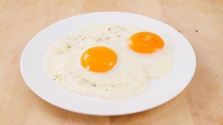 爱上早餐之双煎火腿单面蛋, 营养美味, 方便快捷, 我想吃双份