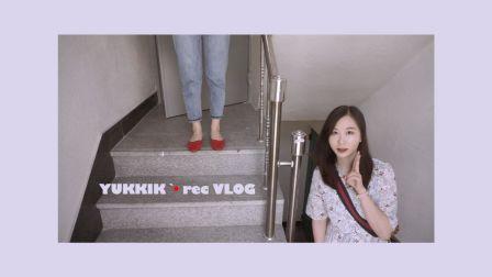 VLOG·REC | 在韩国无聊的吃喝记录·减不下来的肥/习惯视频里我的脸?