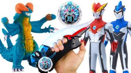 罗布奥特曼飞镖石化怪兽赛罗水晶玩具