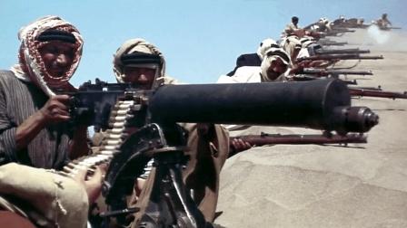 一部凶猛彪悍的动作片 阿拉伯游击军疯狂围入侵者土耳其军民