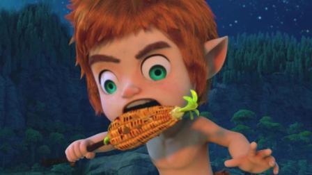 赛尔号大电影6圣者无敌之让克大人欲罢不能的奇妙果酱烤玉米!