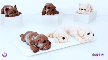 刷屏朋友圈的3D沙皮狗慕斯蛋糕是如何做的