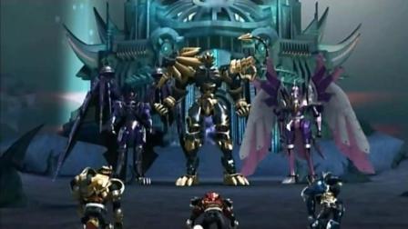 超兽武装: 狮王要给予超兽战士最后一击, 小胖墩出现传异能量