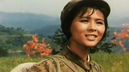 电影《挺进中原》插曲《歌唱大别山》朱逢博演唱, 歌曲高亢明亮, 70年代最的喜爱的歌曲之一
