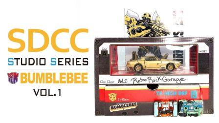 KL变形金刚玩具分享336 SDCC会场限定 SS系列 大黄蜂