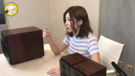 美女猫爷开箱测评惠威HiVi-M80W蓝牙WiFi无线2.1音箱桌面影音神器