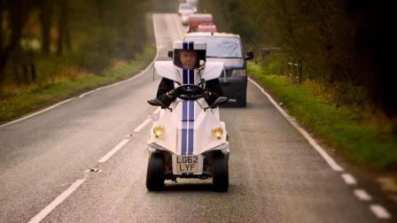世界上最小的汽车, 像衣服一样穿在身上, 有人敢开吗?