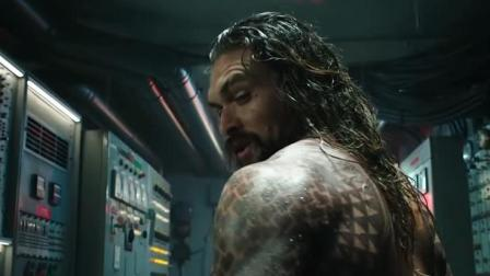 DC又一个超级英雄登场, 预告《海王》霸气露面, 尽显王者霸气