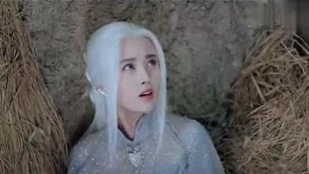 九州天空城: 张若昀终于找到了白发的鞠婧祎, 眼中充满了心疼!