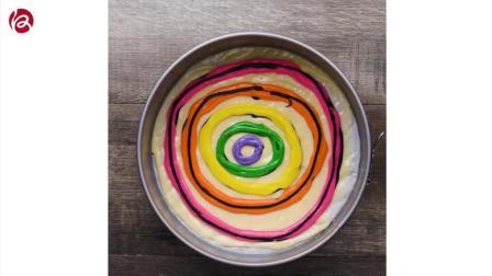 彩虹蛋糕制作视频