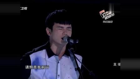 中国好声音: 汪峰组冠军张恒远《夜空中最亮的星》, 要超越原唱的节奏!