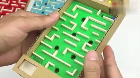 创意自制纸板游戏机, 我能玩一天!