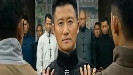 吴京这段接古天乐少帅的戏, 真是霸气十足, 众人无人敢上前阻止
