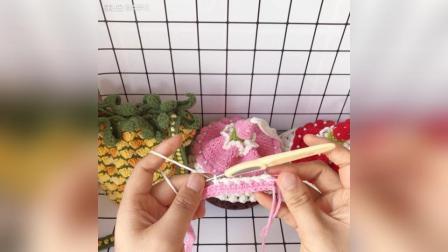 草莓蛋糕束口包教程