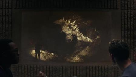 金刚骷髅岛最后出现了哥斯拉2的彩蛋