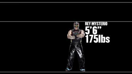 你认为摔跤手的平均身高是多少? 可能没有你想象中的那么大。