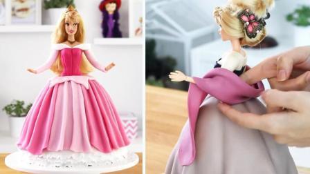 迪士尼最迷人的睡美人公主蛋糕来了! 你要来评价一下吗?