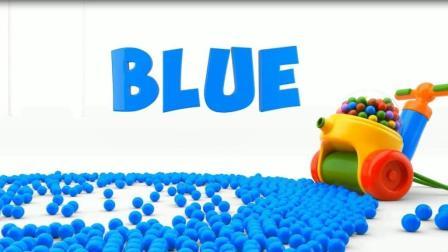 皮球机打气球  认识颜色  汽车   学习英语  婴幼儿益智玩具游戏动画