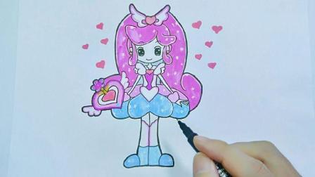 小花仙千韩简笔画, 这样画最简单最漂亮, 小朋友最喜欢的人物篇