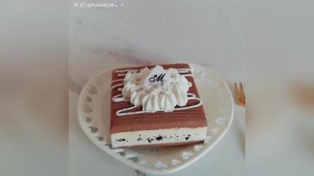 巧克力提拉米苏粘土蛋糕