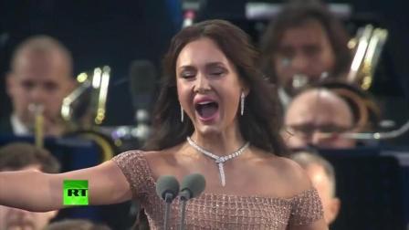 """""""啊! 我要活在美梦中  """"Je veux vivre """"  2018年世界杯莫斯科红场音乐会_"""