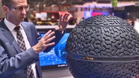 未来的轮胎, 竟然是一个圆球? 360度漂移小意思!