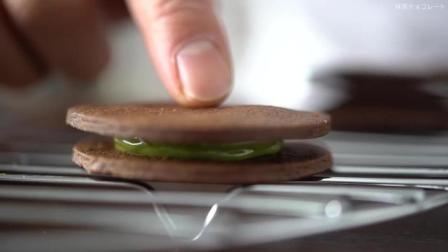 烤箱日记小课堂——抹茶巧克力曲奇