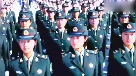 中国女兵, 正步分列式英姿飒爽, 是全中国最美的一群女人