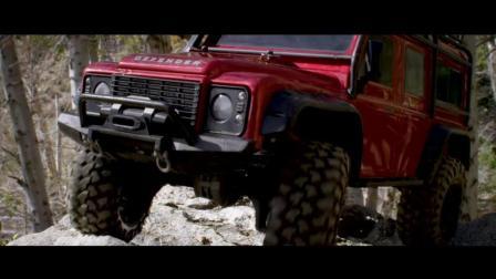 Traxxas TRX-4在洛矶山脉探险