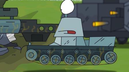 坦克世界搞笑动漫: 百运的黑历史! 这么大的炮管真的没问题吗?