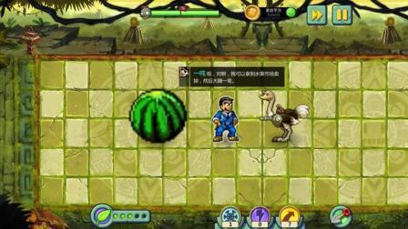植物大战僵尸的世界 天上掉下一个大西瓜