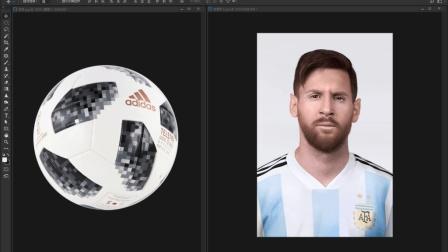 狂热粉丝: 就算给我一个球, 我也能给你P成梅西!