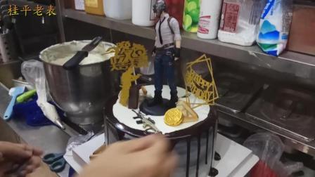 """桂平老表带你看""""吃鸡蛋糕""""制作全过程"""