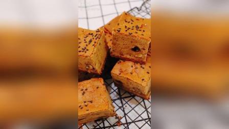 自制核桃红枣糕