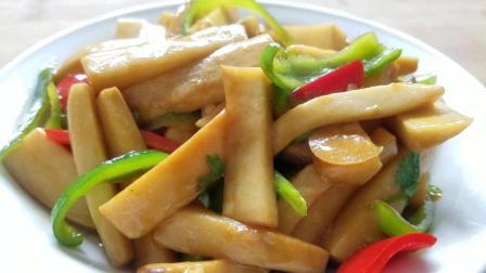 素炒杏鲍菇的家常做法, 老人小孩都爱吃, 营养又美味!