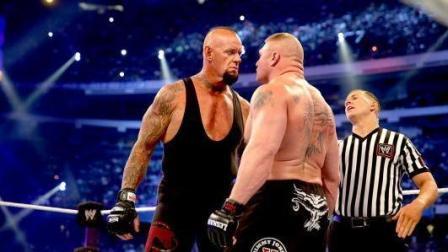 (完整)送葬者布洛克唯一一次合作打比赛, 对手很恐惧, 布洛克内讧爆摔送葬者