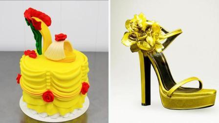 这个高跟鞋竟是个蛋糕? 一分钟就学会, 闺蜜傻傻分不清楚!