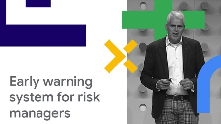 Developing a Warning System for Risk Managers from Scratch on GCP, using AI & ML