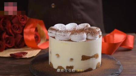 美食剪辑: 意式传统提拉米苏制作