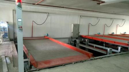 地坑升降横移式立体车库调试运行视频 Pit puzzle parking system