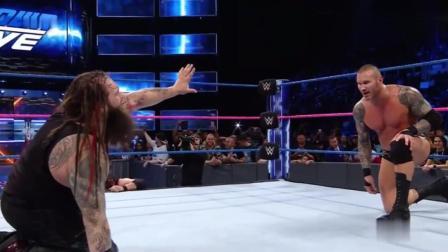 WWE: 毒蛇恋战自食恶果, 布雷怀亚特恐怖抱摔将他