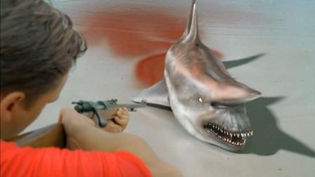这是什么鲨鱼? 虽然长得丑, 但攻击力奇高, 疯狂攻击人类, 开始为所欲为