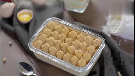 简单易做的豆乳盒子, 用料丰富下午茶的必备甜点