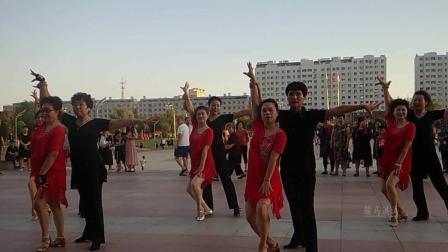 松原洮南第一次拉丁水兵舞汇演洮南国标恰恰
