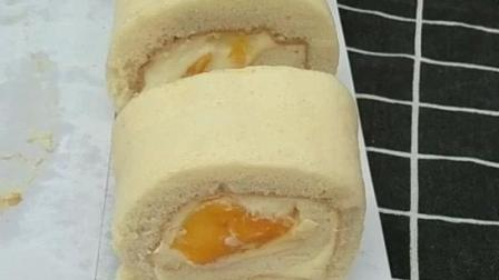 奶油芒果蛋糕卷