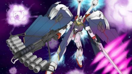海盗高达 白色巨型机器人手持雀屏碎击弩