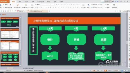 扣丁学堂HTML5视频教程微信小程序开发讲解