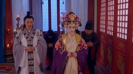 李弘早朝做错事气坏雉奴,得知此事的媚娘将他禁足于东宫之中
